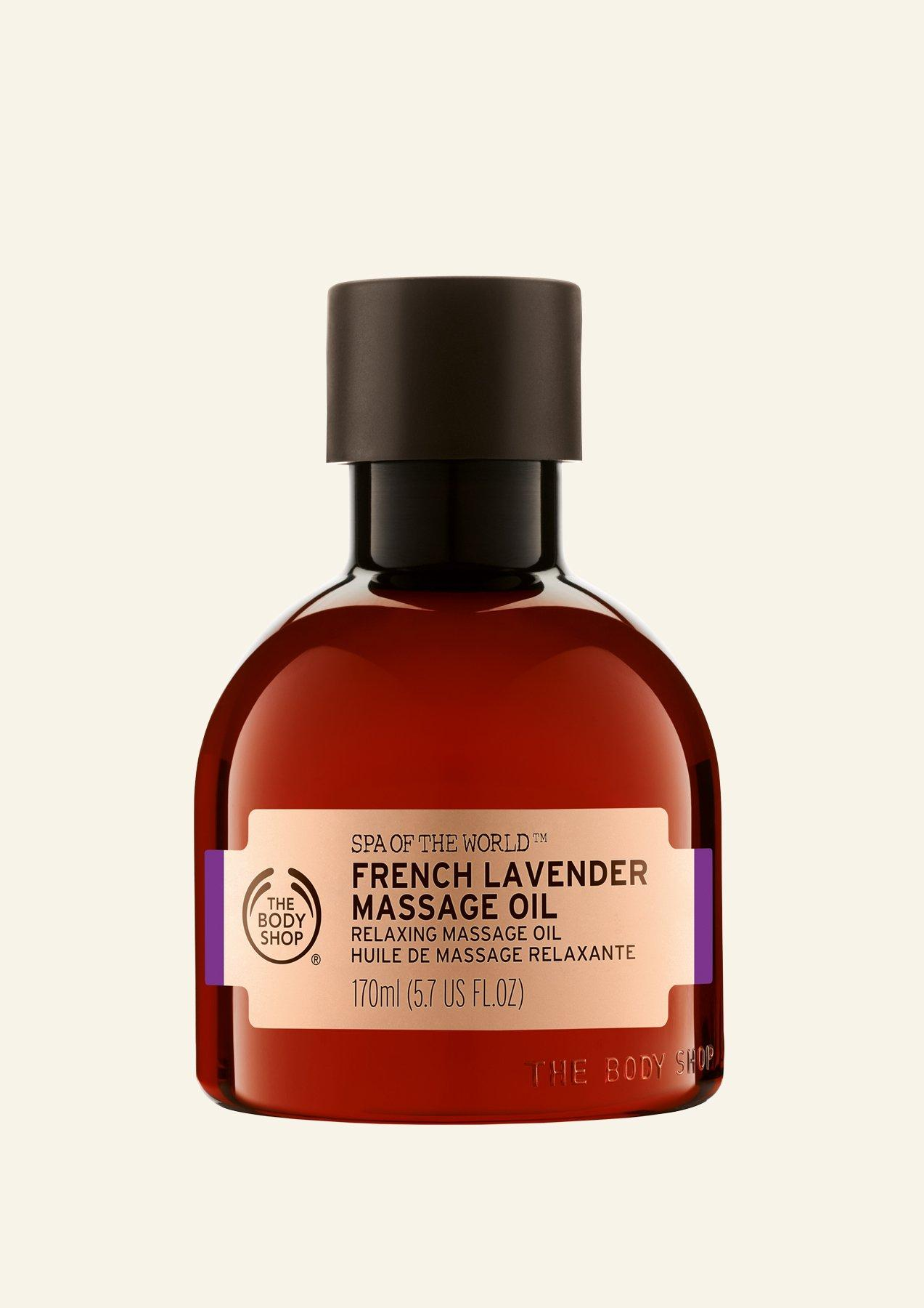 Vaj për masazh Spa of the World™ French Lavender