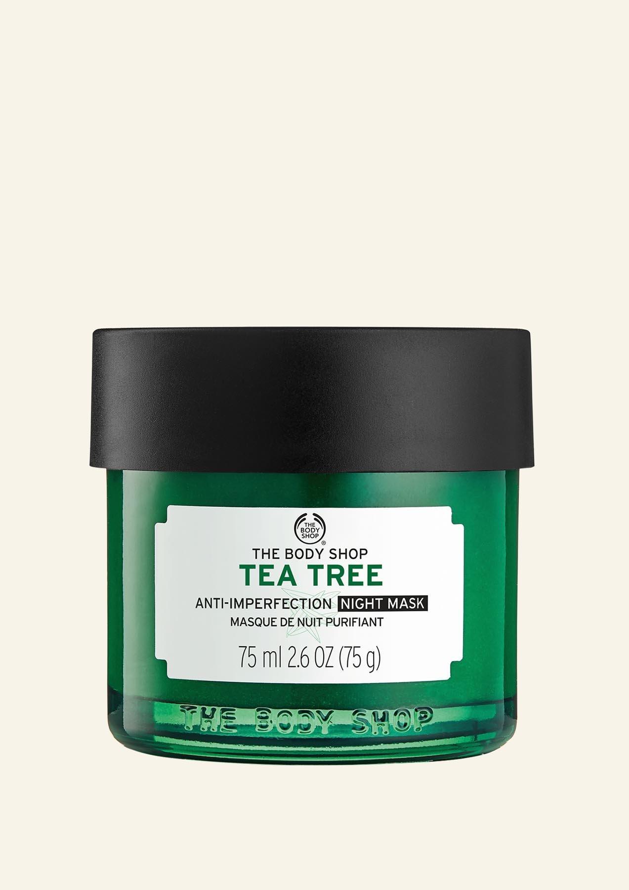 Maskë nate Tea Tree kundër imperfeksioneve