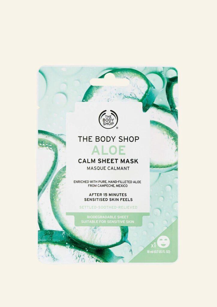 Sheet Mask Hidratuese dhe Qetësuese me Aloe