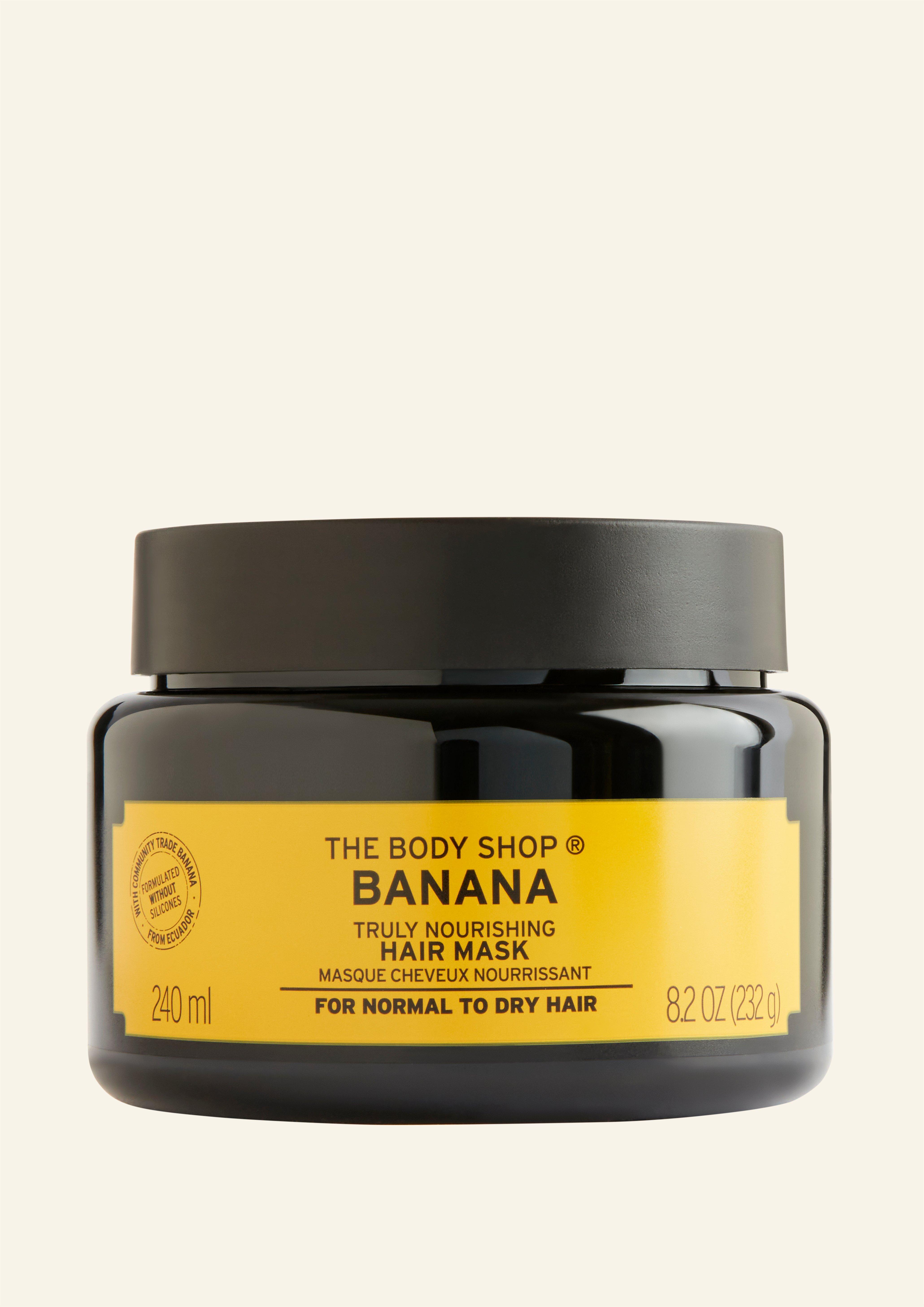 Maskë Flokësh Vërtet Ushqyes me Banane