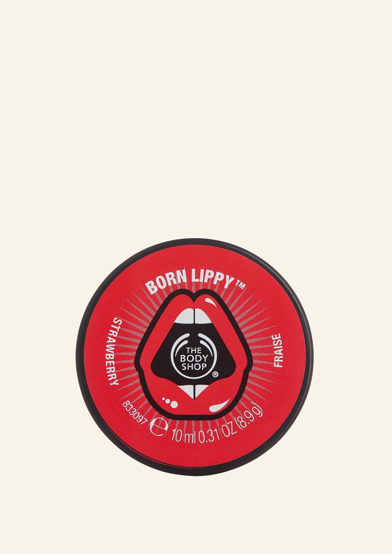 Lip Balm me Luleshtrydhe Born Lippy™ Pot