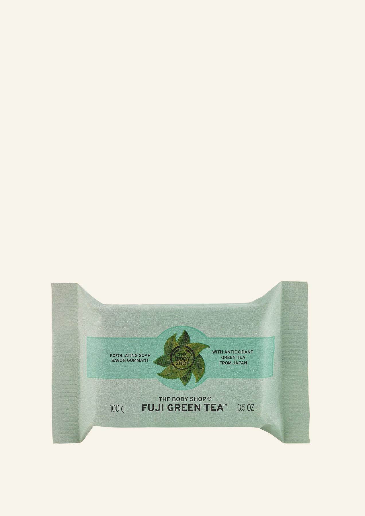 Sapun eksfoliues Fuji Green Tea