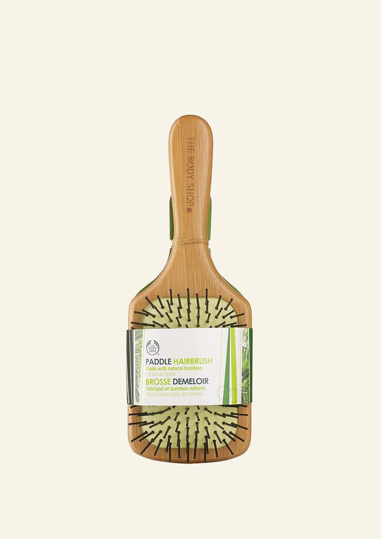 Furçë Flokësh e Madhe Paddle Bamboo