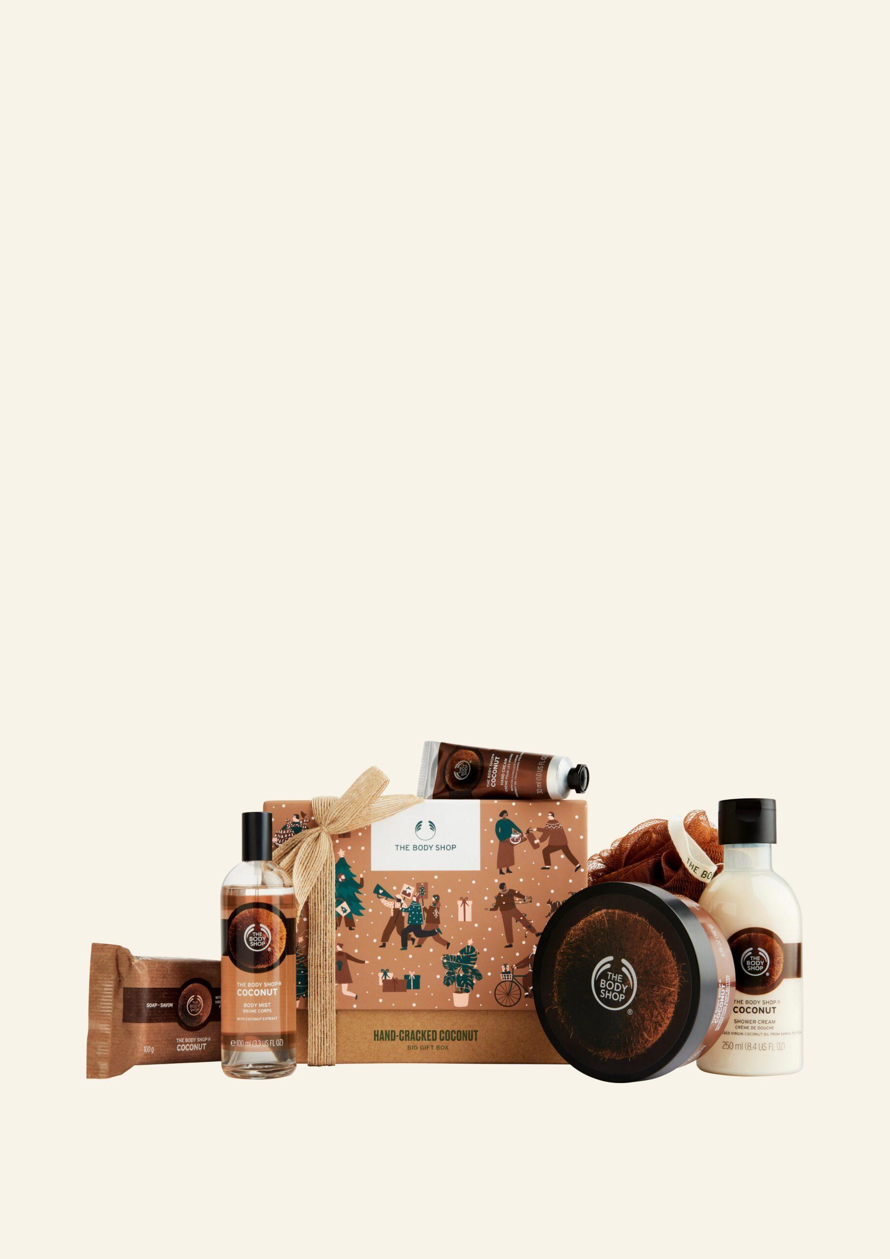 Kuti e Madhe Dhuratë me Kokos të Thyer me Dorë