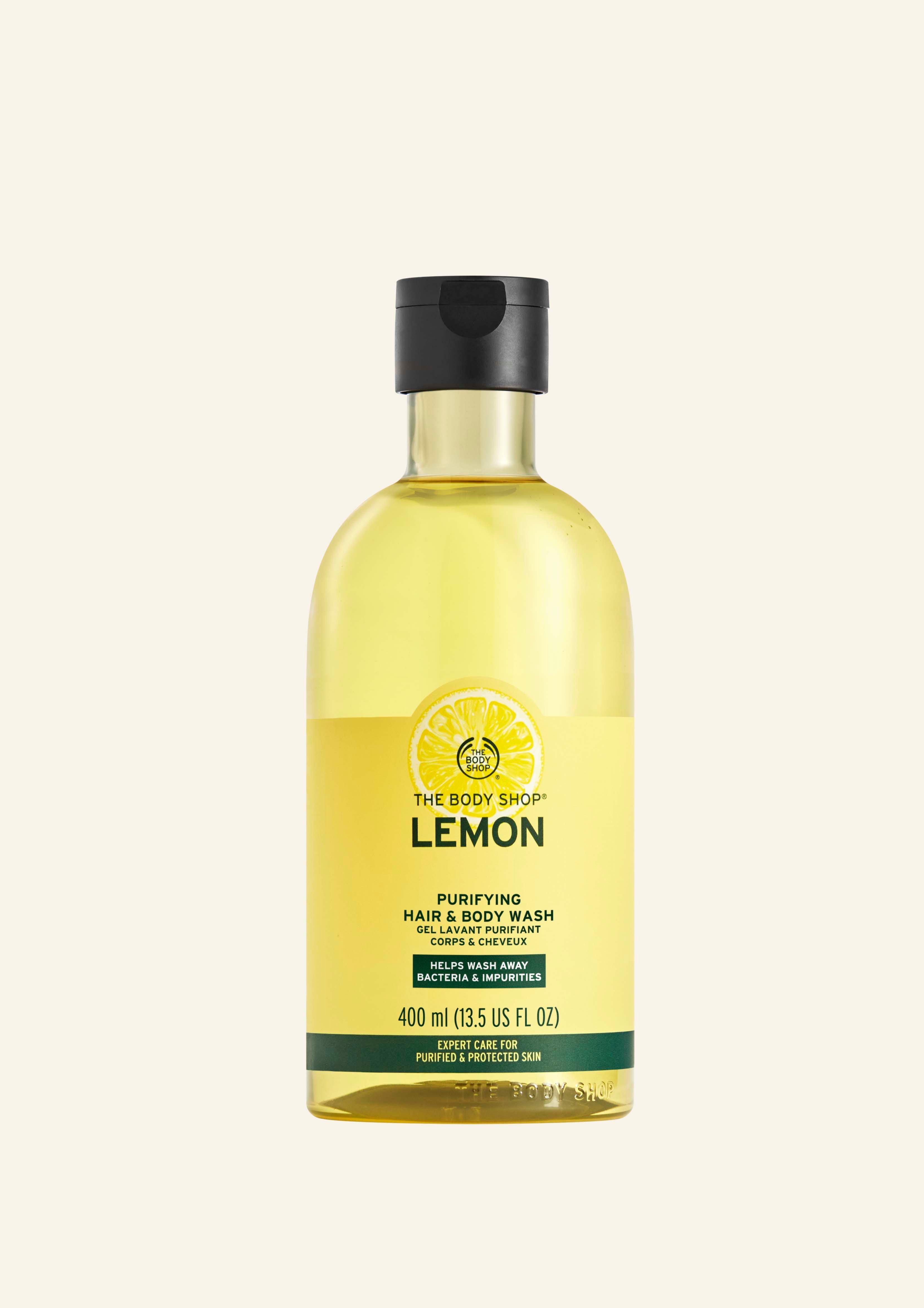 Larës Purifikues për Flokët dhe Trupin me Limon