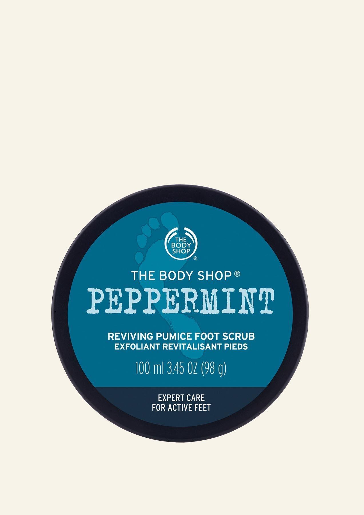 Scrub për Këmbët Peppermint Reviving Pumice