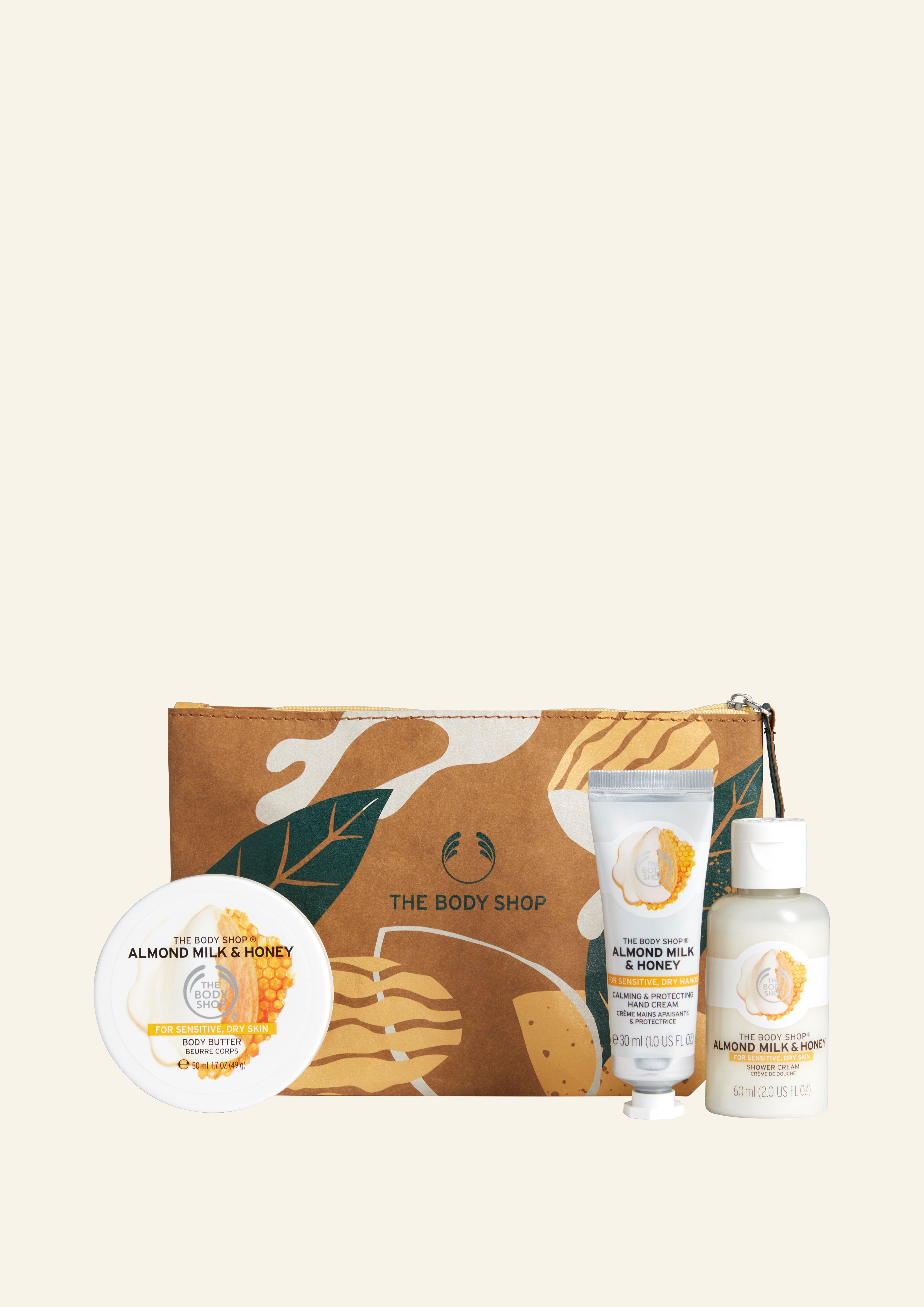Çanta jonë e Dhuratave me Qumësht Bajameje dhe Mjalt