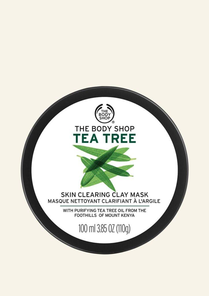Maskë Argjile për Pastrimin e Lëkurës me Tea Tree
