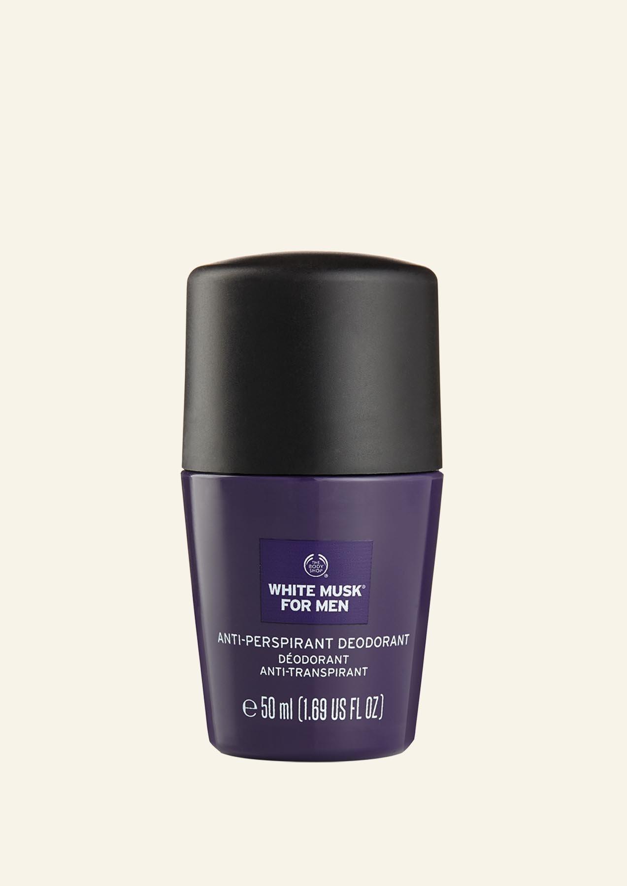 Deodorant Antiperspirant për Meshkuj White Musk